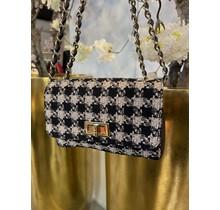 Coco Crossbody Bag Mini Black/Beige