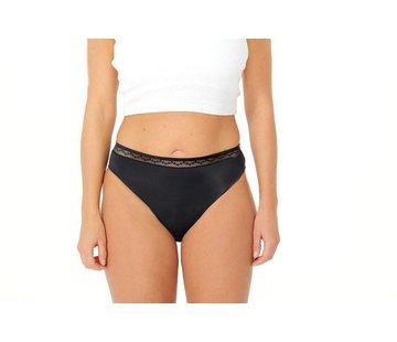Carinwear Carin Wear Slip Zwart absorberend ondergoed