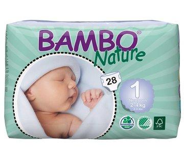 Bambo Nature Bambo luiers maat 1