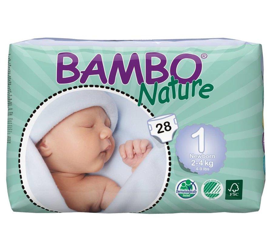 New Born 1 milieuvriendelijke luiers