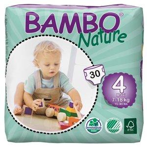 Bambo Nature Luiers maxi 4 voor kindjes van 9 tot 18 kg