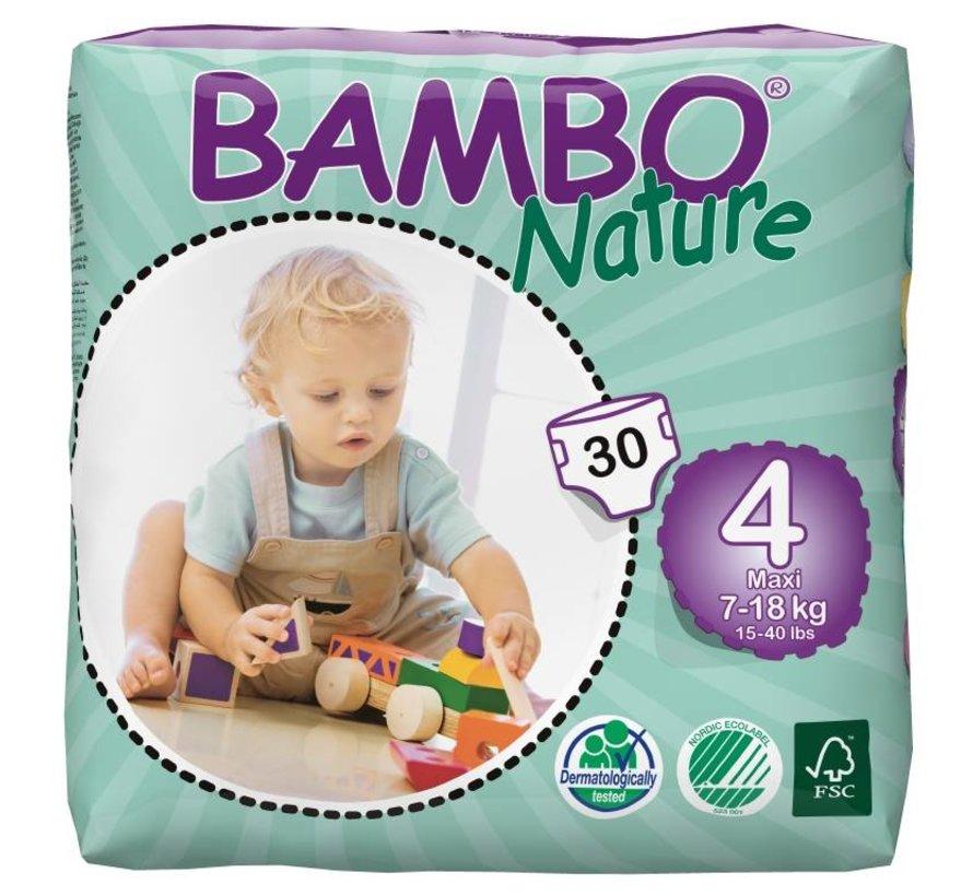 Luiers maxi 4 voor kindjes van 9 tot 18 kg