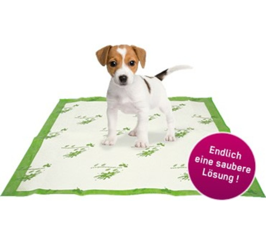 Puppymatjes  bij zindelijkheidstraining van uw hond