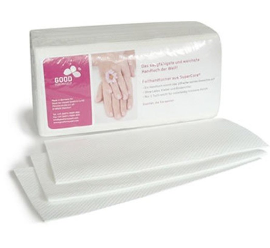 Wegwerp handdoekjes 100 stuks: Een doekje, twee droge handen!