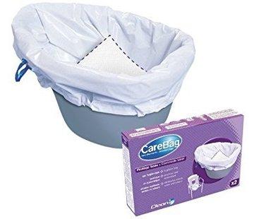 CareBag Opvangzakken toiletstoel probeerverpakking 2 stuks