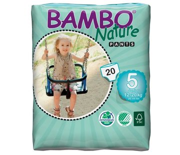 Bambo Nature Bambo luierbroekjes maat 5