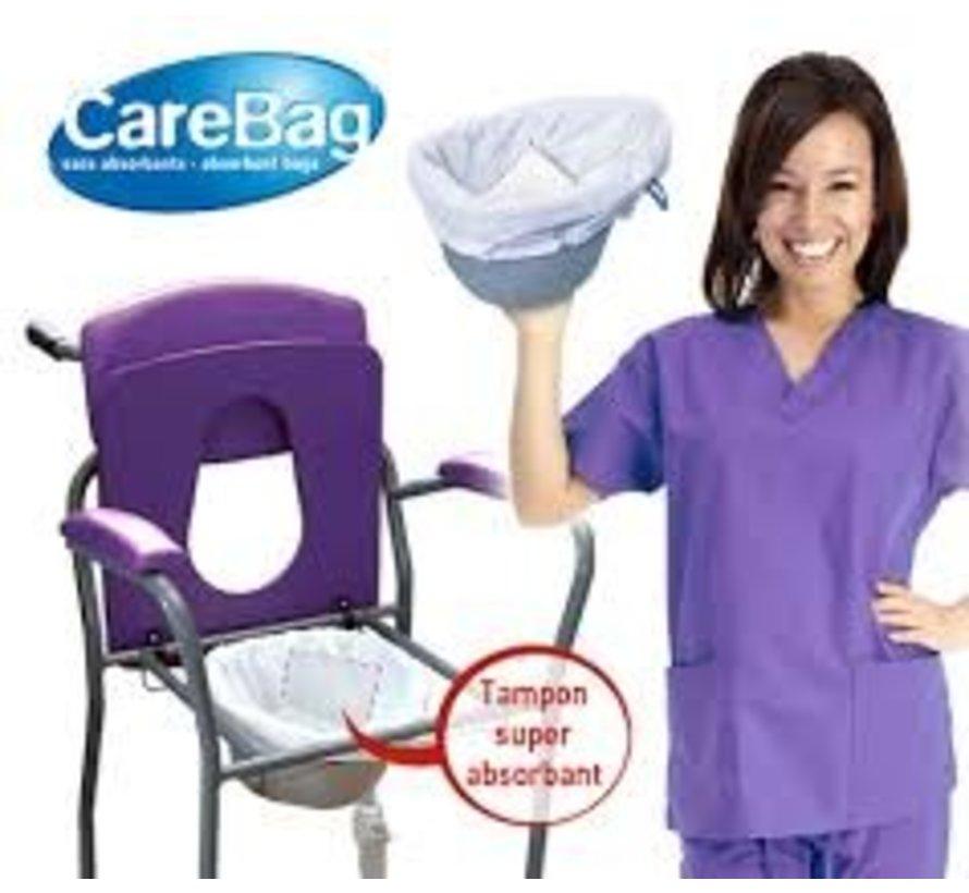 Carebag Opvangzakken voor toiletstoel - 20 stuks