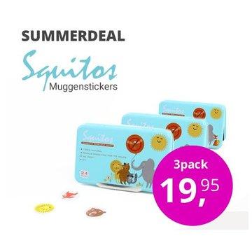 Squitos Anti-muggenstickers voordeelbundel