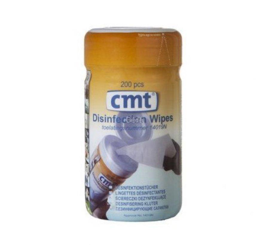 Desinfectie doekjes CMT  (200 stuks)