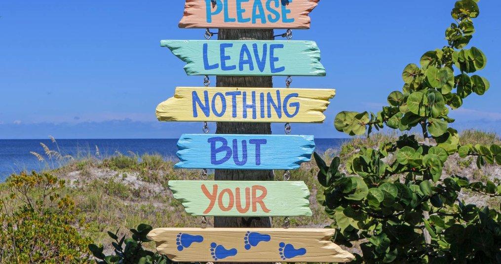 Aandacht voor het milieu in de vakantie