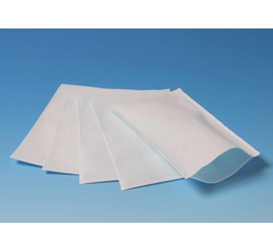 50 geplastificeerde wegwerpwashandjes