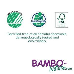 Bambo Nature Luierbroekjes Maat 5 zijn milieuvriendelijk en huidvriendelijk