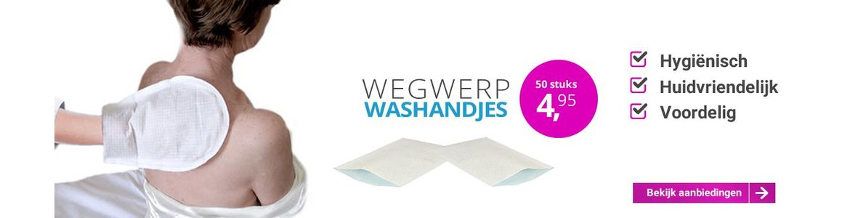 Wegwerpwashandjes - voordelig, handig & hygienisch