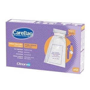 CareBag Wegwerp urinaal met houder (12 stuks)