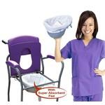 Opvangzakken CareBag  voor thuiszorg, verzorgingstehuis en overige instellingen.