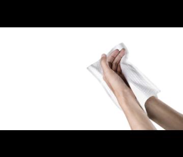 Biologisch afbreekbare wegwerp washandjes