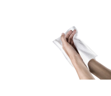 Wegwerpwashandjes  biologisch afbreekbaar (500 stuks)