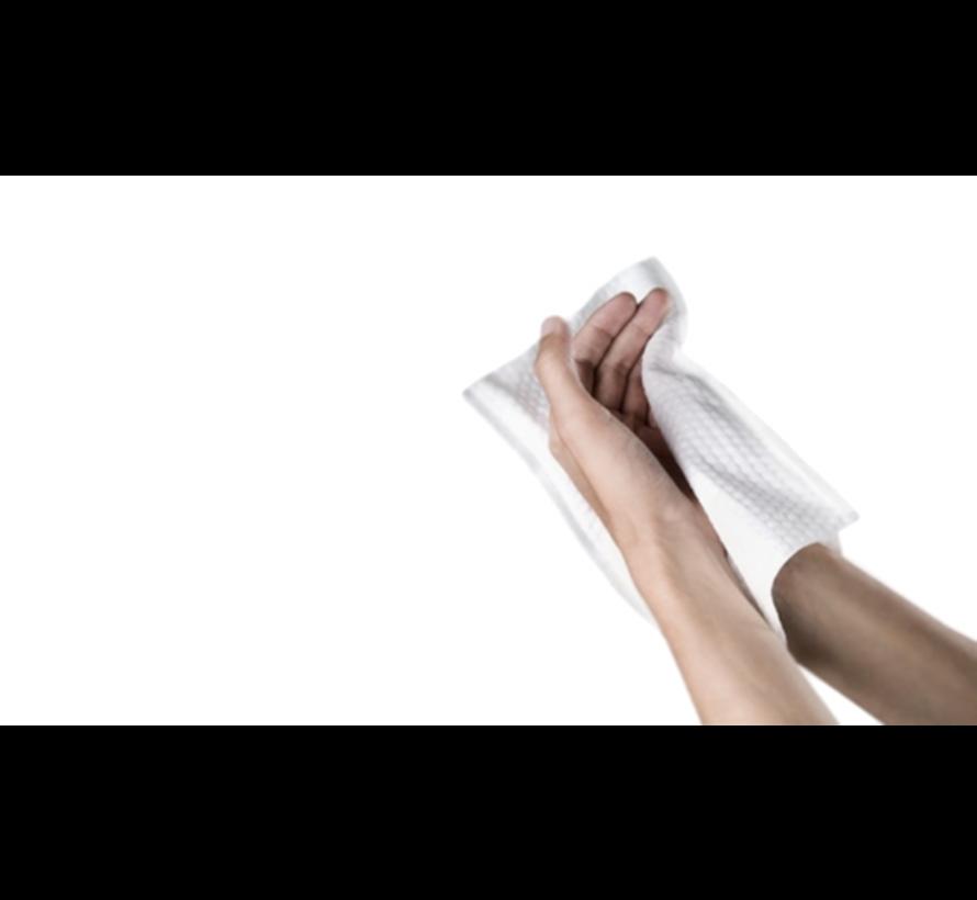 Wegwerp washandjes biologisch afbreekbaar ( 500 stuks)
