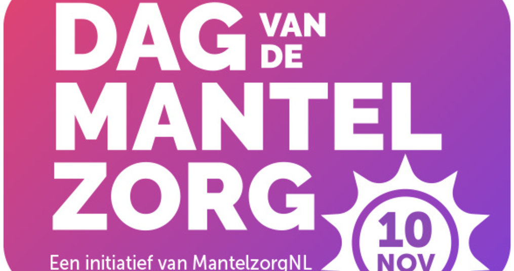 10 November : Dag van de Mantelzorg