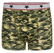 Underwunder Jongens boxershort  camouflage