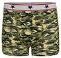Boxer voor jongens met camouflage print