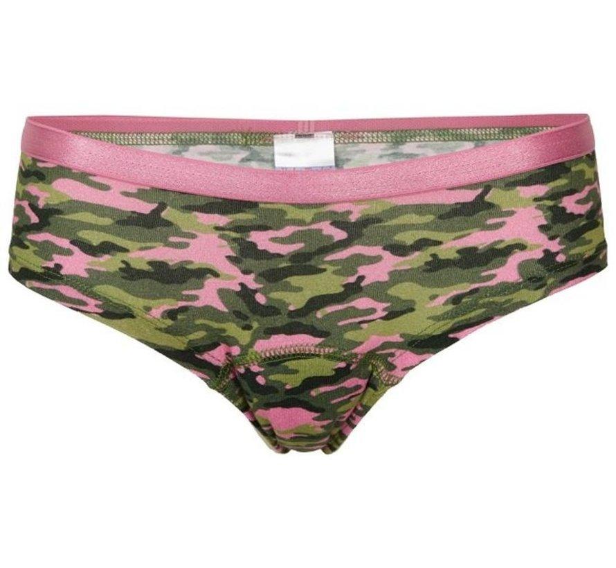 Meisjes slip  Underwunder camouflage