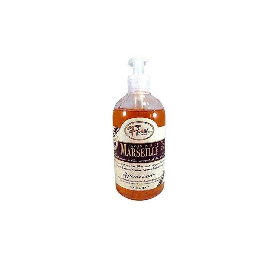 Vloeibare Marseille zeep met tea tree ( 500 ml)
