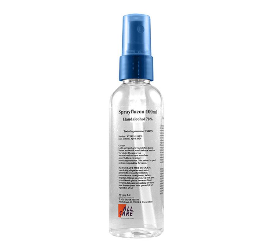 Handalcohol sprayflesje 100 ml 70%