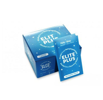 Elite plus Handdesinfectie doekjes 70% alcohol  (25 stuks)