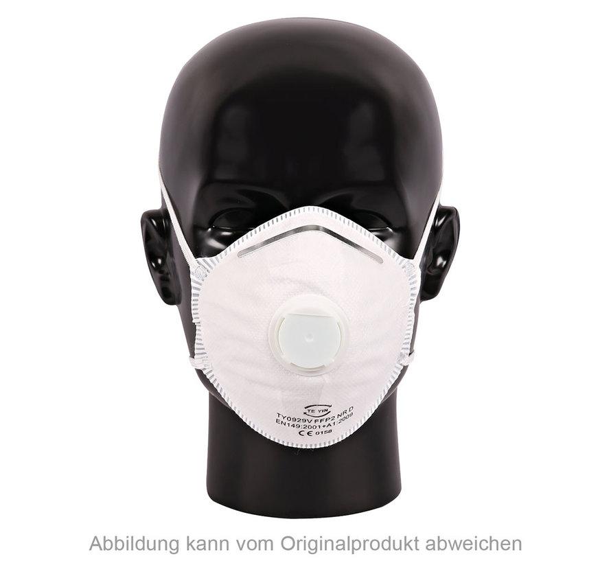 Mondmasker FFP2 nr. D met ventiel ( 10 stuks)