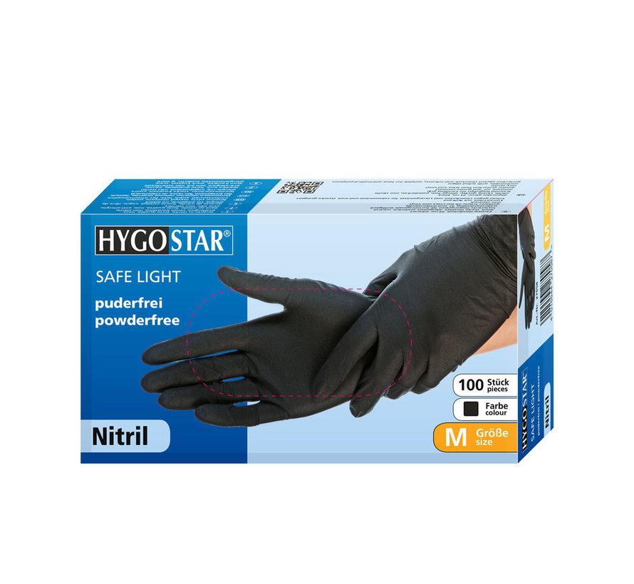 Nitril handschoenen Hygostar poedervrij 100 stuks
