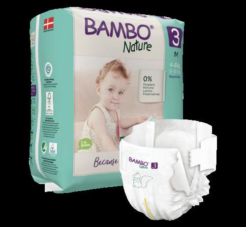 Bambo Nature Bambo Nature Luiers  3 M voor baby's van 4 tot 8 kg