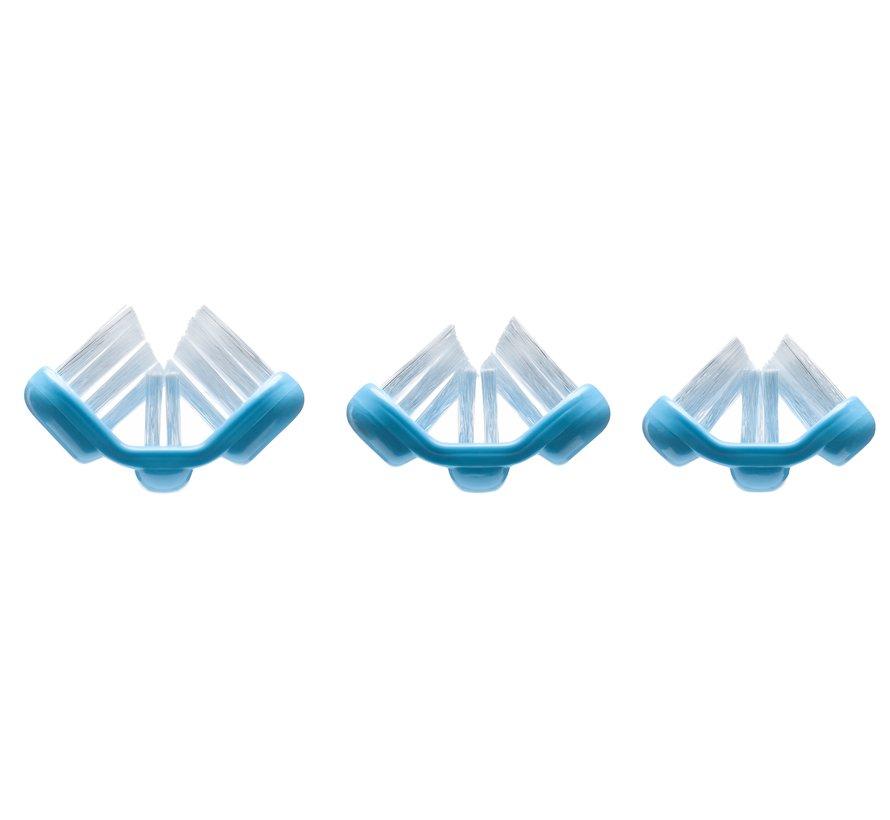 Superbrush 3-kopstandenborstel (6 tot 12 jaar)