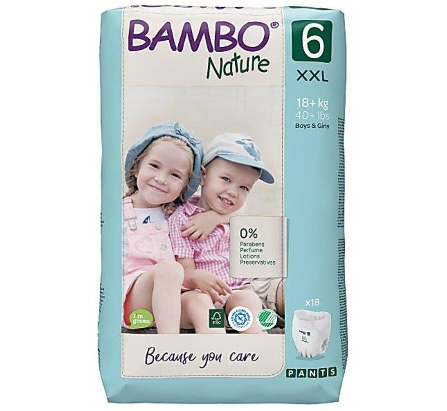 Bambo Nature luierbroekjes maat 6 XXL (18 stuks)