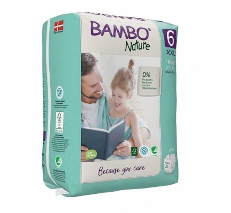 Bambo Nature  Luiers maat  6  XXL voor kindjes vanaf 16 kg