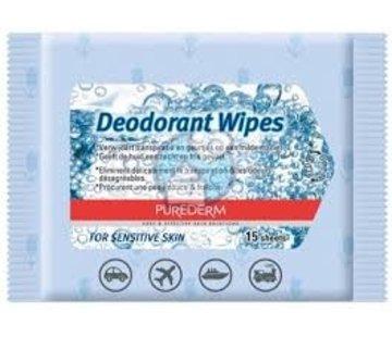 Deodorant doekjes (15 stuks)