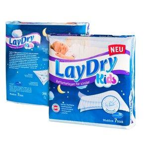 LayDry Matrasbeschermer Bed Mats Kids 7 stuks