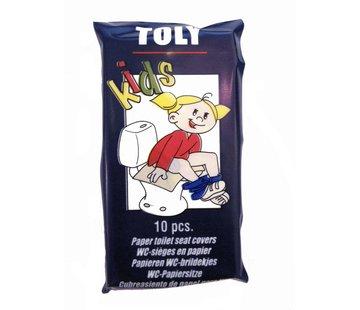 Toly WC-brildekjes Toly Kids (10 stuks)