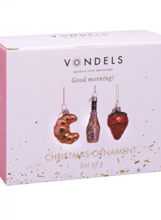 Vondels Christmas ornaments