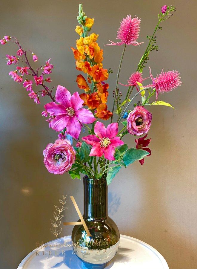 Mini flowerpower inclusief vaas