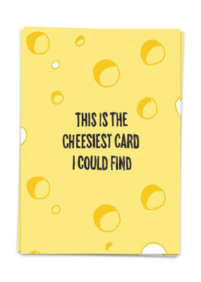 Kaart Blanche This is the cheesiest card I could find