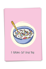 Kaart Blanche I Cereal-sly Love you