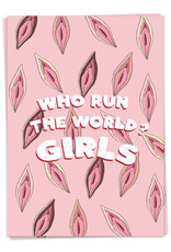 Kaart Blanche Who run the world? GIRLS