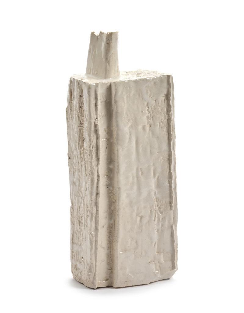 SERAX Ceramic Vase - White (M)