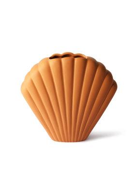 HKLiving Shell Vase Terra Cotta