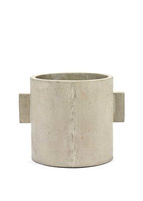 SERAX Flower Pot Concrete - Rond (L)