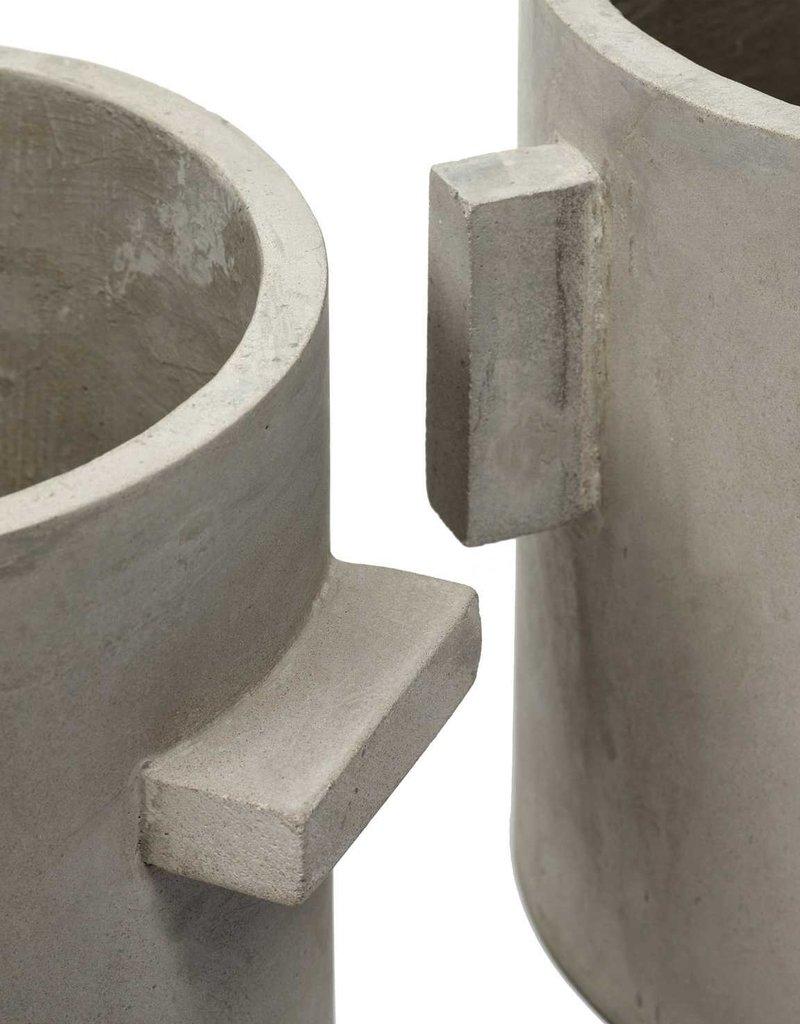 SERAX Flower Pot Concrete - Rond (S)
