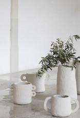 SERAX Plant Pot Papier Maché - Beige (L)