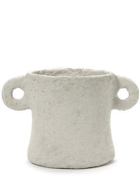 SERAX Plant Pot Papier Maché (L)