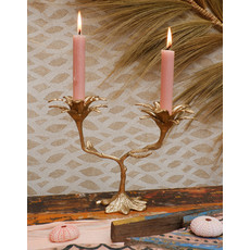 Palm Candle Holder